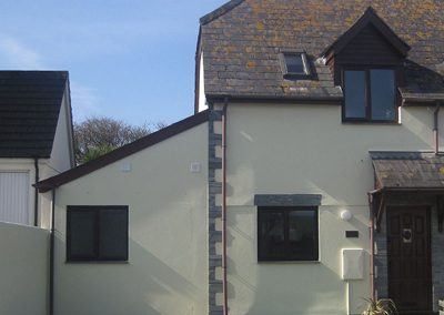 Penrose holiday cottage exterior