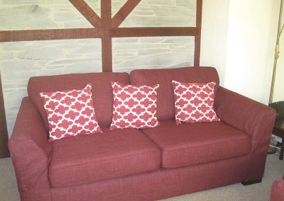 Penrose holiday cottage sofa